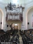 suasana ruang di dalam Gereja Blenduk